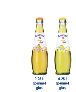 Gerolsteiner Limonade Light